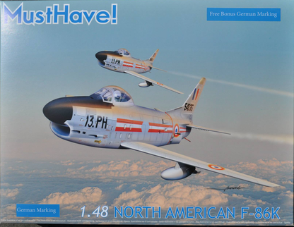 Maquette MustHave! F-86K