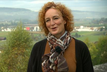Barbara Tudor aus Gossau ZH war Gastgeberin in Gossau ZH. Bild: SRF Video