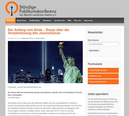Blog von Ständige Publikumskonferenz der Öffentlich- rechtlichen Medien e.V.