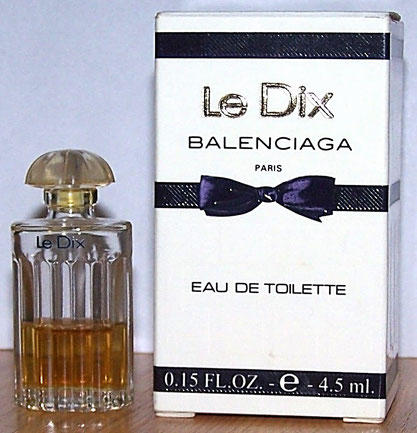 LE DIX - EAU DE TOILETTE 4,5 ML - CONTENANCE DIFFERENTE