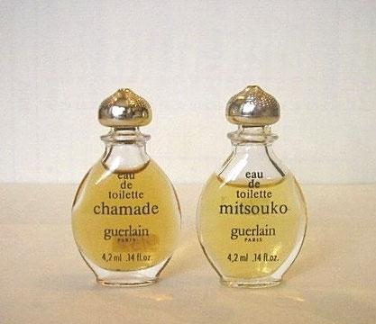 CHAMADE & MITSOUKO - MINIATURES IDENTIQUES A LA PHOTO PRECEDENTE
