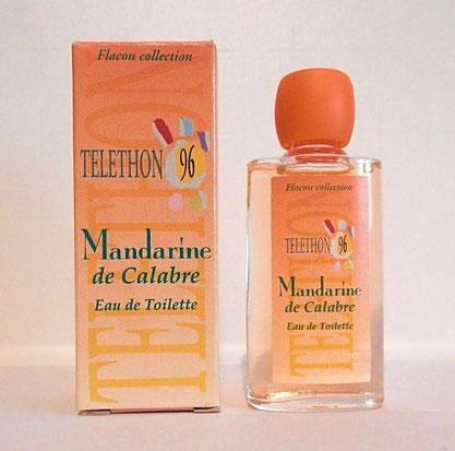 EDITION SPECIALE TELETHON 1996 - MANDARINE DE CALABRE, EAU DE TOILETTE