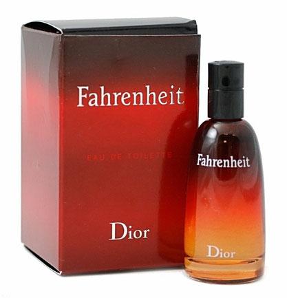 FAHRENHEIT - EAU DE TOILETTE POUR HOMME - GROSSE BOÎTE - 2006