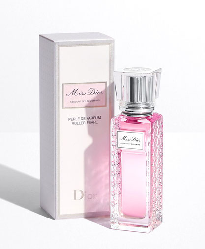 2020 - MISS DIOR ABSOLUTELY BLOOMING : ROLL'ON PERLE DE PARFUM 20 ML, NON RECHARGEABLE