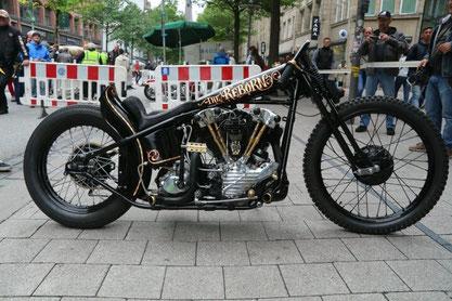 Hamburg Harley Days / Ride-In Bike Show auf der Mönckebergstraße - Hamburg Chapter Germany