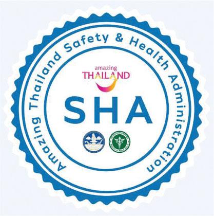 タイ国政府観光庁(TAT)による認定制度SHAを受けました