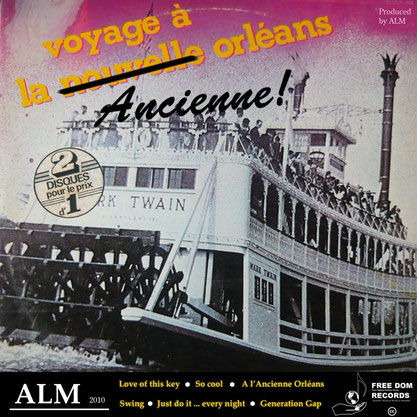 ALM - Voyage à l'ancienne Orléans (EP) 2010 [producing; recording; mixing; mastering]