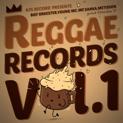 A75 Record - Reggae Records Vol.1 (EP) 2014 [mixing; mastering]