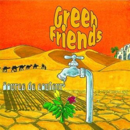 Green Friends - Source de couleurs (EP) 2011 [producing; recording; mixing; mastering]