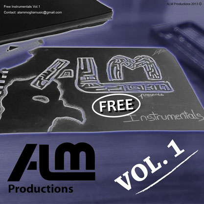 ALM - Free Instrumentals Vol.1 (Beat tape) 2013 [producing; mixing; mastering]