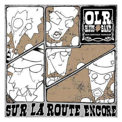 OLR Blues Band - Sur la route encore (EP) 2013 [mastering]