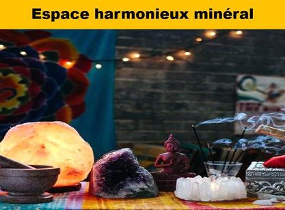 Espace harmonieux minéral - Lithothérapie - Casa bien-être
