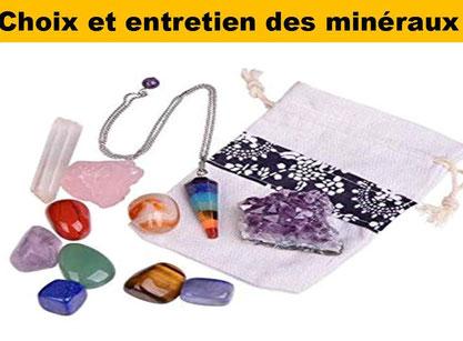 Choix et entretiens des minéraux - Lithothérapie - Casa bien-être