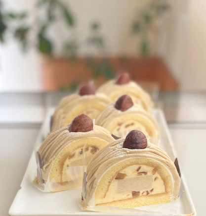 球磨栗のモンブラン 球磨栗 モンブラン 和栗のモンブラン 福井ケーキ 福井ケーキや