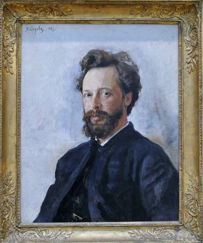 Valentin Serov (1865-1911) : portrait de Semyon Chokolov
