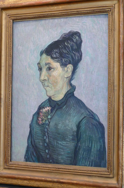 Vincent van Gogh (1853-1890) : portrait de Madame Trabuc