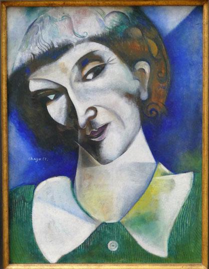 M. Chagall : autoportrait, 1914