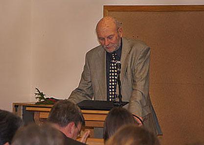 Ulrich Wotschikowsky als Redner 2016 (25 Jahre ÖJV Brandenburg)