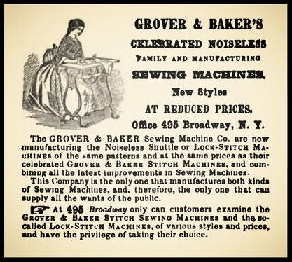 1861 Advertisement