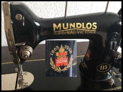 MUNDLOS  ORIGINAL VICTORIA  Type 115 (1938)