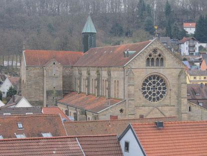 Abteikirche Otterberg, Westansicht