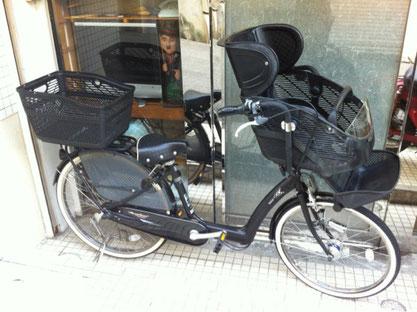 ブリヂストンアンジェリーノ子供乗せ自転車