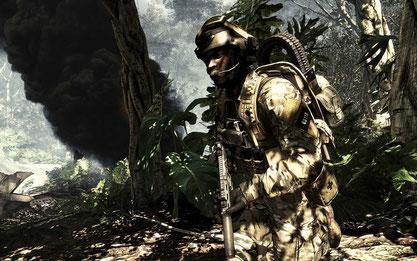 """War das einzige echte Vorzeigespiel der Show, konnte aber visuell nicht bestechen: Die One-Version von """"Call of Duty: Ghosts"""""""