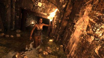 Die Wandschmierereien in den Katakomben, Tempeln, Bunkern und Bretterbuden von Yamatai huldigen Sonnenkönigin Himiko, orientieren sich in ihrer Ausführung aber an Horrorfilmen und Thrillern.