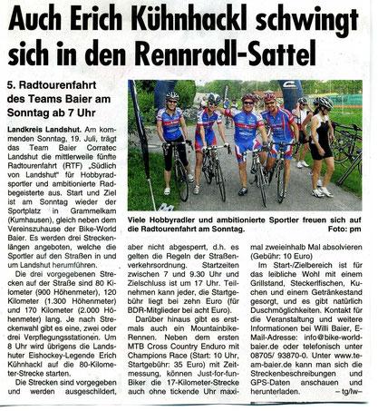 Quelle: Landshuter Wochenblatt 15.07.2015