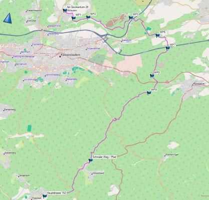 © OpenStreet Map- Mitwirkende