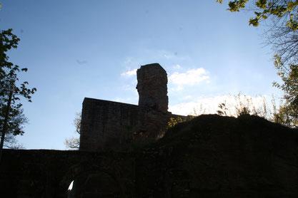 Und da war Sie , die Burg Hohenecken