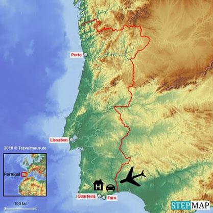 Unsere Reise nach Portugal.