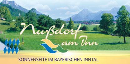 Blick auf Nussdorf am Inn - Haus am Steinbach