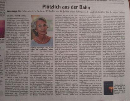 Stefanie Will Schlaganfall Ammersee Künstlerin Autorin Hoffnung Hingabe Buch Mut Lebenskunst Gesundheit Krankheit Heilung