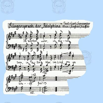 Sängerspruch der Adolphina
