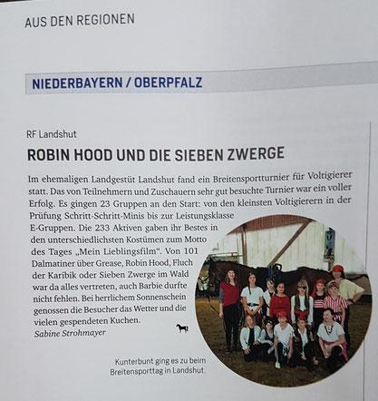 Bayerns Pferde Zucht + Sport, Ausgabe 7/2018, Seite 88