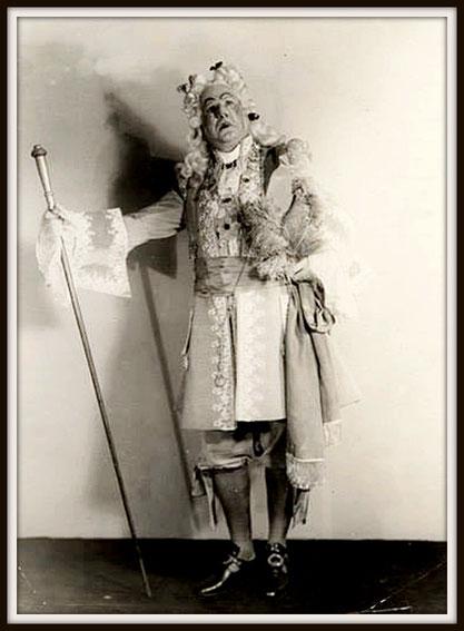 Dandini - La Cenerentola di G. Rossini - Teatro Colón 1939
