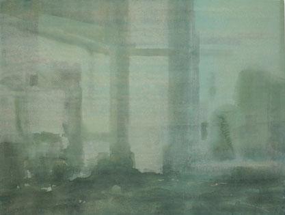 Wasteland 2013 Tempera auf Segeltuch 190 x 250 cm