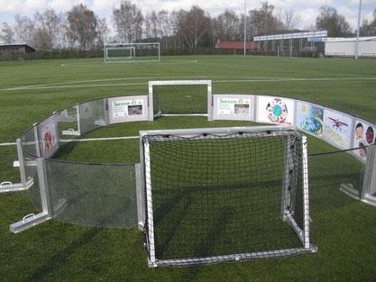 Viele Ballkontakte erhöhen den Spaß am Fußball