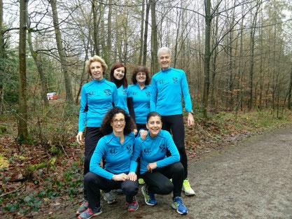 Unser Laufeinsteiger-Begleiterteam
