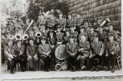 6.Gruppenbild 1964 TMK Pöndorf