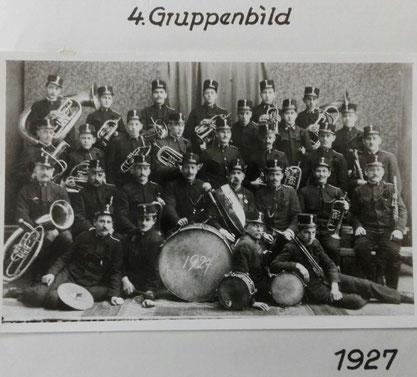 4.Gruppenbild 1927 TMK Pöndorf