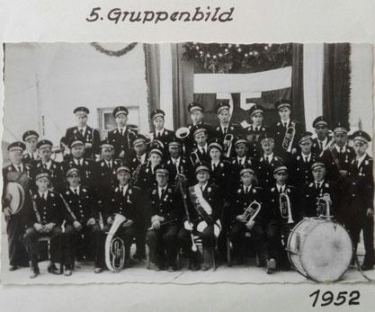 5.Gruppenbild 1952 TMK Pöndorf