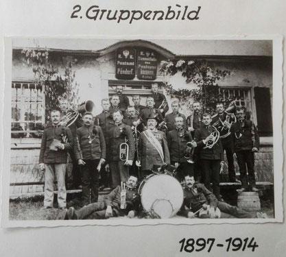 2.Gruppenbild 1897 - 1914 TMK Pöndorf