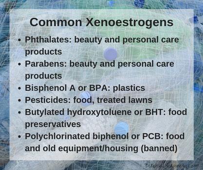 Common Xenoestrogens