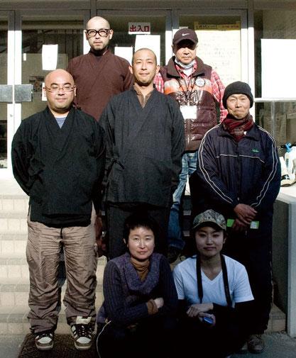 女川町への支援にいったメンバー