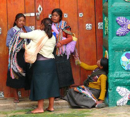 Blog Reise reportage Idee Spuren Stadt in Chiapas, Kunsthandwerk, Indigene Einwohner