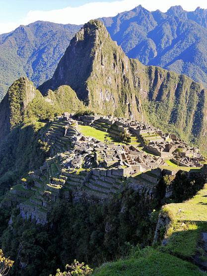 DAS große Zeichen, der Signifikant Perus: Machu Picchu, Peru (Foto Jörg Schwarz)