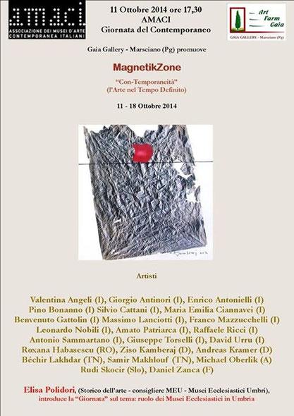 Zusammenarbeit meiner beiden italienischen Galeristen - ArtFarmGaia, Umbrien und Magazzini dell`Arte, Sizilien!