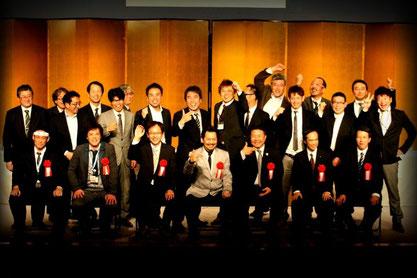 全日本製造業コマ大戦協会発足式にて (2013年4月19日)